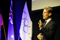 ALA-0001709 © WestPix Guest speaker at the 2016 Sports Person of the Year, Brant Garvey. Picture: Laurie Benson Albany Advertiser