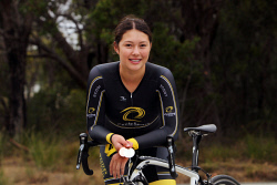 ALA-0001746 © WestPix Danica Wiggins will represent WA at the Australian Junior Track Championships later this month. Picture: Laurie Benson Albany Advertiser