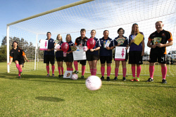 BDT-0000337 © WestPix Geographe Bay Football Club are gearing up for a Pink Sports Day fundraiser this month.  Picture: Cameron Myles Busselton Dunsborough Times