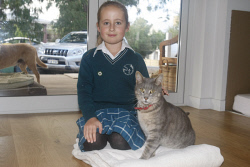 BDT-0000358 © WestPix Dunsborough student Sophie Corrigan,8, raised money for Saving Animals From Euthanasia organisation.