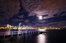 FEA-0007269 © WestPix Local jetty in South Perth. Picture: Shaun Fearn
