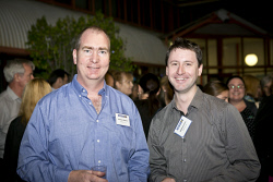 KGM-0023366 © WestPix Business After Hours at the WA Museum Kalgoorlie-Boulder, Andrew Watkins and Matthew Price. (Picture: Louise White) 27th April 2016