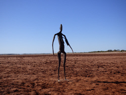 KGM-0025365 © WestPix Lake Ballard, created by world-acclaimed sculptor Antony Gormley. Picture Rebecca Nadge