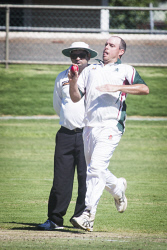 KGM-0030162 © WestPix Cricket at Sir Richard Moore Sports Centre, Hannans vs North Kalgoorlie, North Kalgoorlie's Blake Willis. (Picture: Louise White) 18th February 2017
