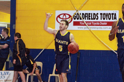 KGM-0031357 © WestPix Goldfields Giants V Mandurah Magic.  Picture: Mary Meagher. Giants Daniel Forlano.