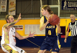 KGM-0031359 © WestPix Goldfields Giants V Mandurah Magic.  Picture: Mary Meagher. Giants Jerome Reid.