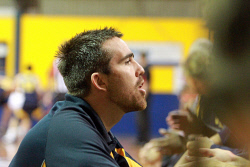 KGM-0031386 © WestPix Goldfields Giants V Mandurah Magic.  Picture: Mary Meagher. Giants  head coach Lou Causer.