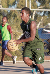 KGM-0033237 © WestPix CAPS Vs JPC basketball carnival. Caleb Javapro. Picture: Mary Meagher.