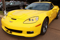 KGM-0034303 © WestPix This yellow  Chevrolet Corvette Z06 is the complete sports package for bold drivers. Pictures: Zach Relph
