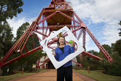 KGM-0034572 © WestPix Museum of the Goldfields Education Officer Peta Osborne is getting ready for National Science Week activities at the museum. (Picture: Louise White) 14th August 2017
