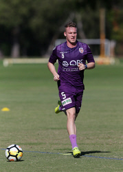 SUN-1402784 © WestPix Perth Glory training at McGillivray Oval, Mt Claremont. Pictured- Jacob Poscoliero Picture: Daniel Wilkins