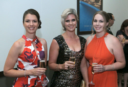 TWA-0020730 © WestPix AIM WA WestBusiness Pinnacle Awards - 2015  Lisa Holley, Sarah Brotherston, Kimberley Campbell  Picture: Ben Crabtree The West Australian. 19/11/2015