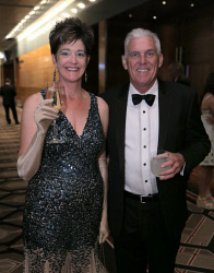 TWA-0020732 © WestPix AIM WA WestBusiness Pinnacle Awards - 2015  Dierdre Carlin and Steve Stock  Picture: Ben Crabtree The West Australian. 19/11/2015