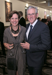 TWA-0020737 © WestPix AIM WA WestBusiness Pinnacle Awards - 2015  Anna Chauvel and Andy Sharp  Picture: Ben Crabtree The West Australian. 19/11/2015