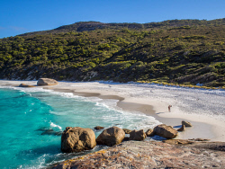 TWA-0026902 © WestPix Beautiful Little Beach in Two People's Bay national park must be seen to be believed.