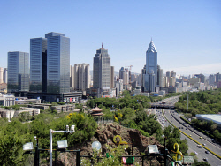 TWA-0052546 © WestPix Xinjiang Region in China - The freeway in the centre of Urumqi used to be a river. Picture Mark Mallabone The West Australian