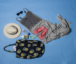 TWA-0063585 © WestPix What to pack: warm weather holiday. Picture: Iain Gillespie The West Australian