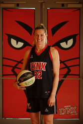 TWA-0068799 © WestPix Perth Lynx star Sami Whitcomb has been signed by WNBA club Seattle Storm. Sami is pictured at the Bendat Basketball Centre in Floreat, Perth. Picture: Ross Swanborough