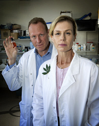 TWA-0070926 © WestPix Brother and sister scientists Elaine Darby and Stewart Washer who have both set up medical marijuana companies  Picture: Steve Ferrier The West Australian.