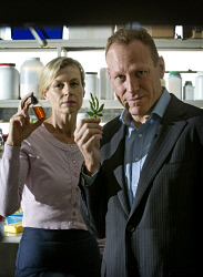 TWA-0071012 © WestPix Brother and sister scientists Elaine Darby and Stewart Washer have both set up medical marijuana companies.  Picture: Steve Ferrier The West Australian.