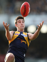 TWA-0072872 © WestPix West Coast Eagles vs Brisbane Lions at Subiaco Oval. Elliot Yeo. Picture: Sharon Smith The West Australian
