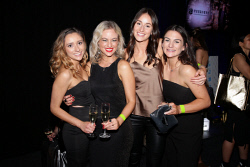 TWA-0076018 © WestPix TPFF: Rachel Gilbert at Crown Pyramid, Crown Perth on Saturday September 16th, 2017.  Grainne Fancote, Chloe Baird, Elli Brashaw & Kasie Franklin  Picture: John Koh.