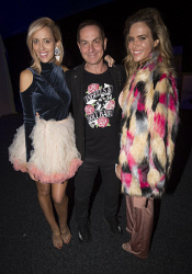 TWA-0076098 © WestPix Hayley Hardisty, Tony Sage & Lidia Tinelli - TPFF Closing Night: Wheels & Dollbaby 30th Anniversary Picture by Matt Jelonek The West Australian 17 Sept, 2017