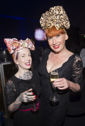 TWA-0076113 © WestPix Jasmine Danks & Natalie Giles - TPFF Closing Night: Wheels & Dollbaby 30th Anniversary Picture by Matt Jelonek The West Australian 17 Sept, 2017