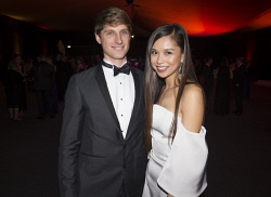 TWA-0076162 © WestPix Richard Kohne & Ling Ying Ong - Heart of WA Gala Picture by Matt Jelonek The West Australian 15 Sept, 2017