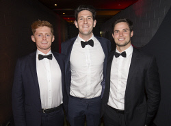 TWA-0076163 © WestPix Matt Gavshon, Sam Macpherson & Brandon Clemens - Heart of WA Gala Picture by Matt Jelonek The West Australian 15 Sept, 2017