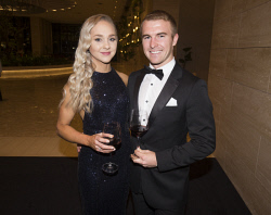 TWA-0076178 © WestPix Caitlin Sharp & Joshua Lean - St John of God Subiaco Hospital Annual Gala Ball Picture by Matt Jelonek The West Australian 16 Sept, 2017