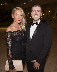 TWA-0076179 © WestPix Karis McCarthy & Myles Murphy - St John of God Subiaco Hospital Annual Gala Ball Picture by Matt Jelonek The West Australian 16 Sept, 2017