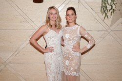 TWA-0076186 © WestPix Sandover Medal at Crown Ballroom, Crown Towers on Monday September 18th, 2017.   Kate Harrison & Ella Marchetti  Picture: John Koh