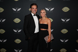 TWA-0076187 © WestPix Sandover Medal at Crown Ballroom, Crown Towers on Monday September 18th, 2017.   Aaron Black & Paris Wilson  Picture: John Koh