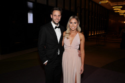 TWA-0076188 © WestPix Sandover Medal at Crown Ballroom, Crown Towers on Monday September 18th, 2017.   Shane Nelson & Anita Baric  Picture: John Koh
