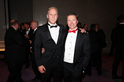 TWA-0076192 © WestPix Sandover Medal at Crown Ballroom, Crown Towers on Monday September 18th, 2017.   Haiden Schloithe & Tom Bottrell  Picture: John Koh