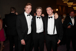 TWA-0076194 © WestPix Sandover Medal at Crown Ballroom, Crown Towers on Monday September 18th, 2017.   Matthew Jupp, Camron Eardley & Jayden Schofield Picture: John Koh