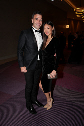 TWA-0076195 © WestPix Sandover Medal at Crown Ballroom, Crown Towers on Monday September 18th, 2017.   Ryan Crowley & Samara Tugwell  Picture: John Koh