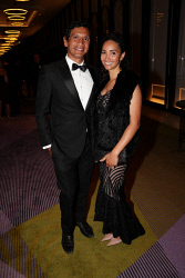 TWA-0076196 © WestPix Sandover Medal at Crown Ballroom, Crown Towers on Monday September 18th, 2017.   Troy Cook & Tamara Cook  Picture: John Koh