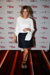 TWA-0076209 © WestPix TPFF: Styled by STM at Grand Ballroom, Crown Perth on Wednesday September 13th, 2017. Kylie Gillies  Top and Skirt by Cue  Shoes by Ginger and Smart  Earrings was vintage  Picture: John Koh.