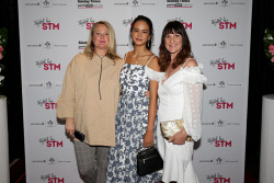 TWA-0076213 © WestPix TPFF: Styled by STM at Grand Ballroom, Crown Perth on Wednesday September 13th, 2017. Christine Fox, Courtney Eaton & Tamara Dimov  Picture: John Koh.