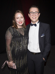 TWA-0076216 © WestPix Siobhan Blake & Lachlan Hunter - Heart of WA Gala Picture by Matt Jelonek The West Australian 15 Sept, 2017