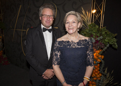 TWA-0076218 © WestPix Tony York & Alana MacTiernan - Heart of WA Gala Picture by Matt Jelonek The West Australian 15 Sept, 2017