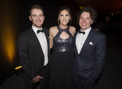 TWA-0076220 © WestPix Matthew Maitland, Elizabeth Gallagher & Alex Davies - Heart of WA Gala Picture by Matt Jelonek The West Australian 15 Sept, 2017