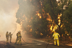 WAN-0000207 © WestPix Atwell fire Picture: Simon Santi/The West Australian 03/02/2014 ######