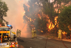 WAN-0000211 © WestPix Atwell fire Picture: Simon Santi/The West Australian 03/02/2014 ######