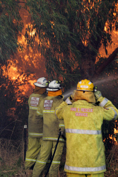 WAN-0000214 © WestPix Atwell fire Picture: Simon Santi/The West Australian 03/02/2014 ######