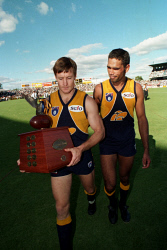 WAN-0030450 © WestPix West Coast Eagles versus Fremantle Dockers at Subiaco for the first Western Derby. May 14 1995. Picture: Mogens Johansen
