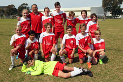 ALA-0002132 © WestPix AJSA under 13 cup champions Polonia. Picture: Laurie Benson Albany Advertiser