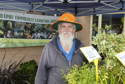 BDT-0000631 © WestPix Rod Cary with some of the wildflowers on display. Picture: Chloe Fraser Busselton Dunsborough Times